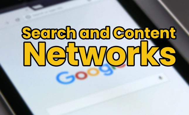 What Are Search and Content Networks
