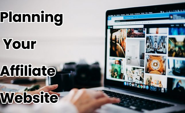 Planning Your Affiliate Website