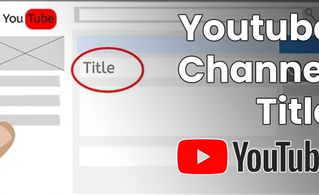 Youtube Channel Title